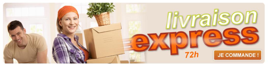 Livraison express 72h - JE COMMANDE !