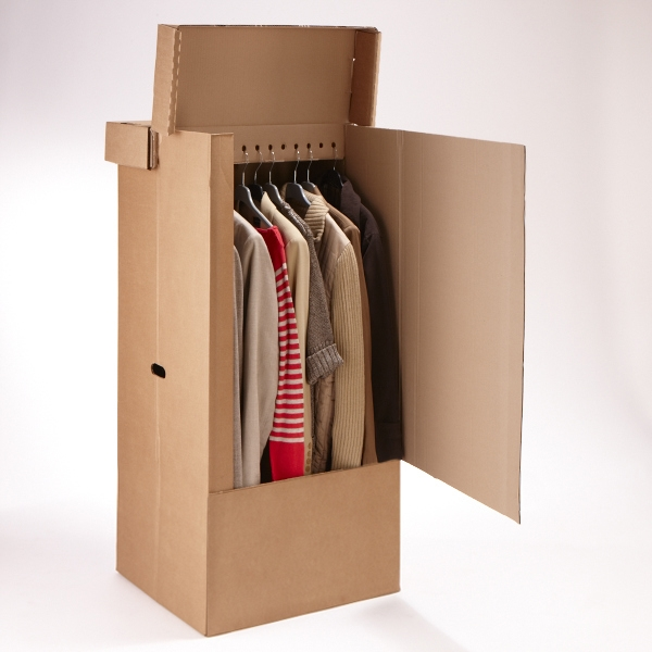 carton penderie 1001 cartons de d m nagement. Black Bedroom Furniture Sets. Home Design Ideas